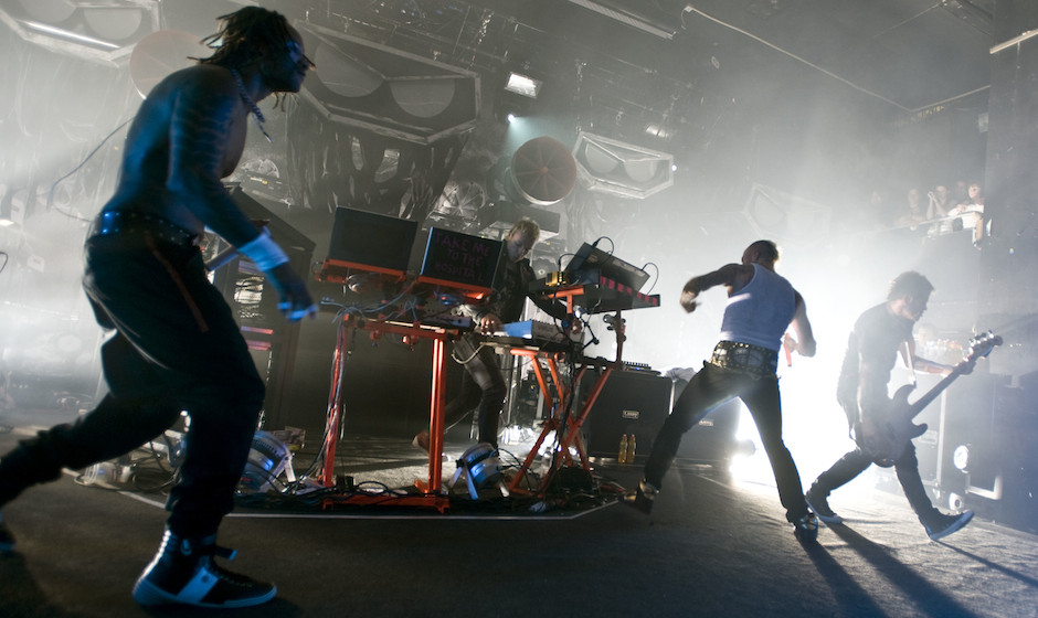 The Prodigy performing live at the Carling Academy, Birmingham on 9th December 2008.