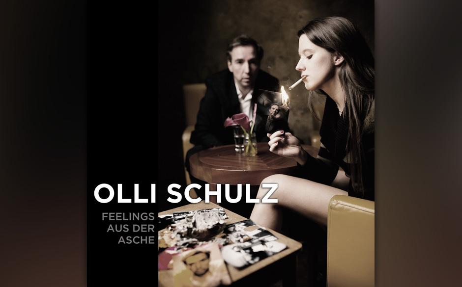 ...neu dabei ist Olli Schulz, der mit 'Feelings aus der Asche' aus dem Stand die Vier belegt...