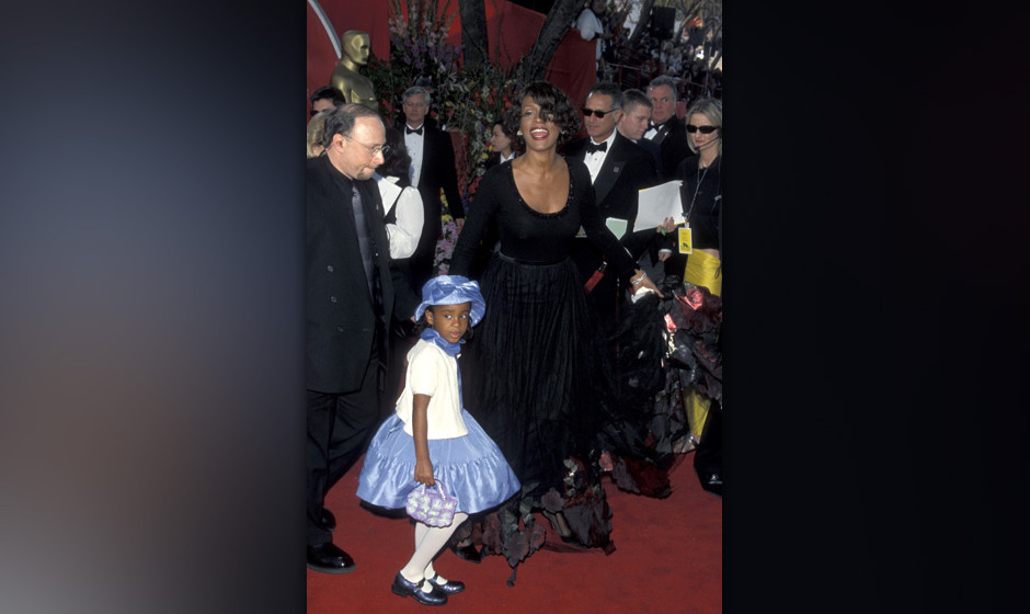 Daughter Bobbi and Whitney Houston (Photo by Jim Smeal/WireImage)