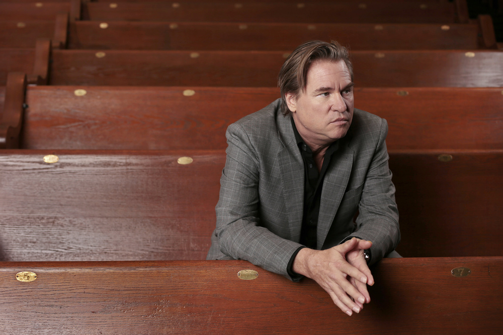 In this Jan. 9, 2014 photo, Val Kilmer poses for a portrait in Nashville, Tenn. (AP Photo/Mark Humphrey)