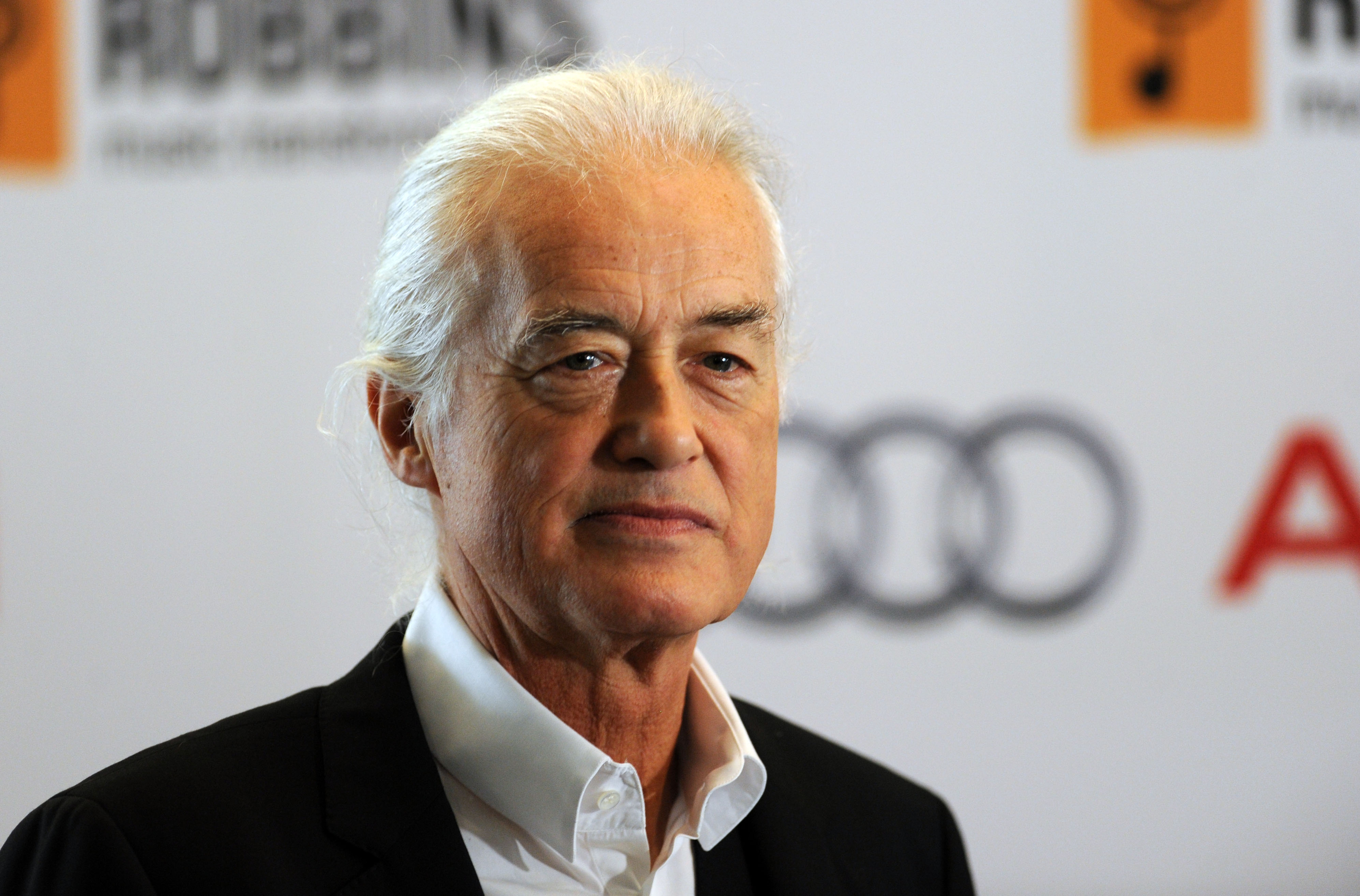LONDON, ENGLAND - JULY 04:  Jimmy Page attends the Nordoff Robbins 02 Silver Clef awards at London Hilton on July 4, 2014 in