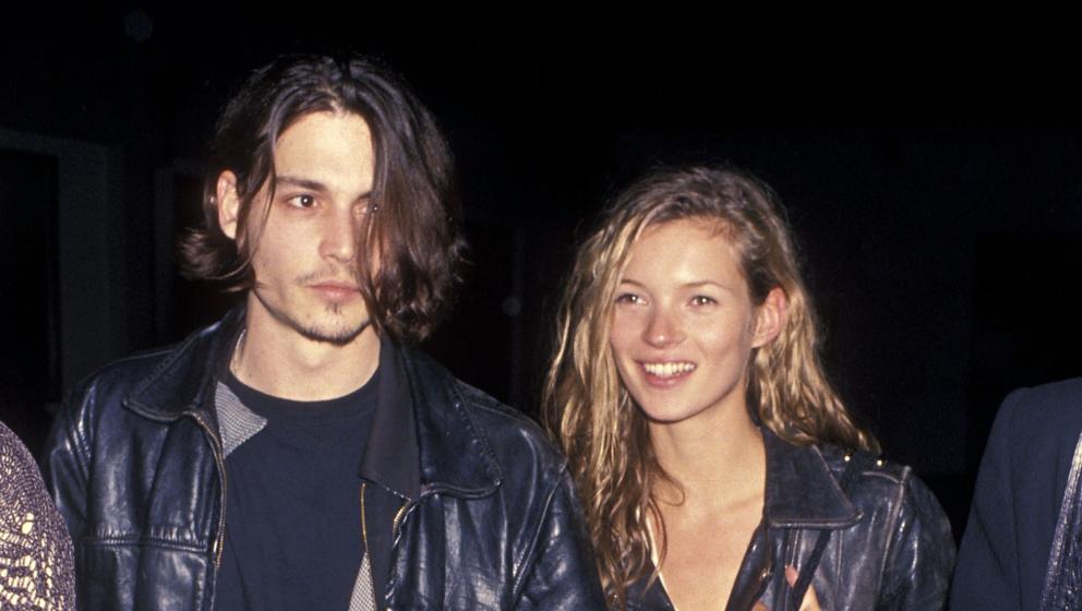 Von 1994 bis 1998 war Depp mit Model Kate Moss zusammen.
