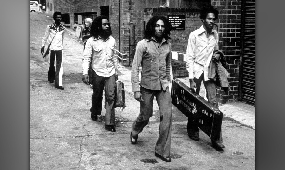 Event: Arriving at Birmingham Odeon in 1974.