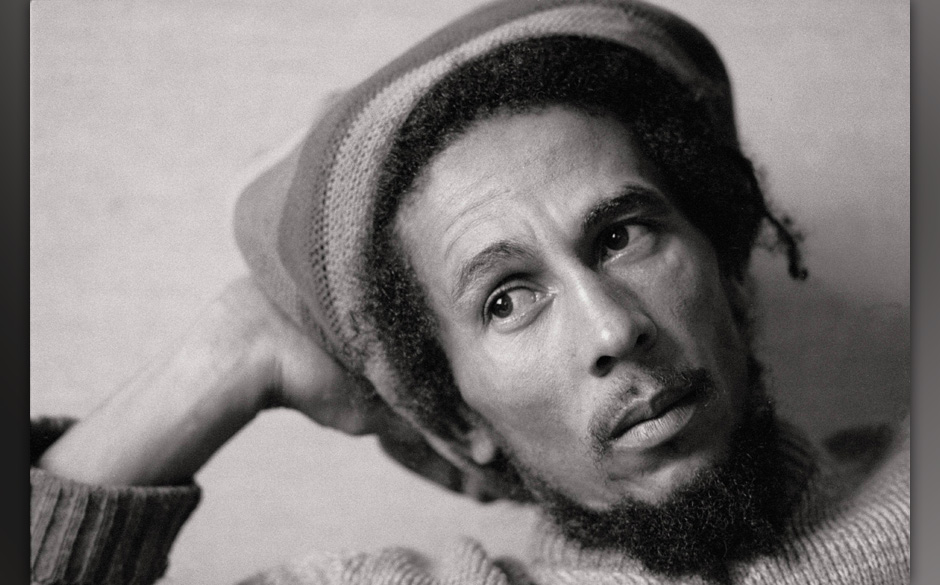 Bob Marley, singer The singer sat with a Jamaican cap  (Photo by Sigfrid Casals/Cover/Getty Images)