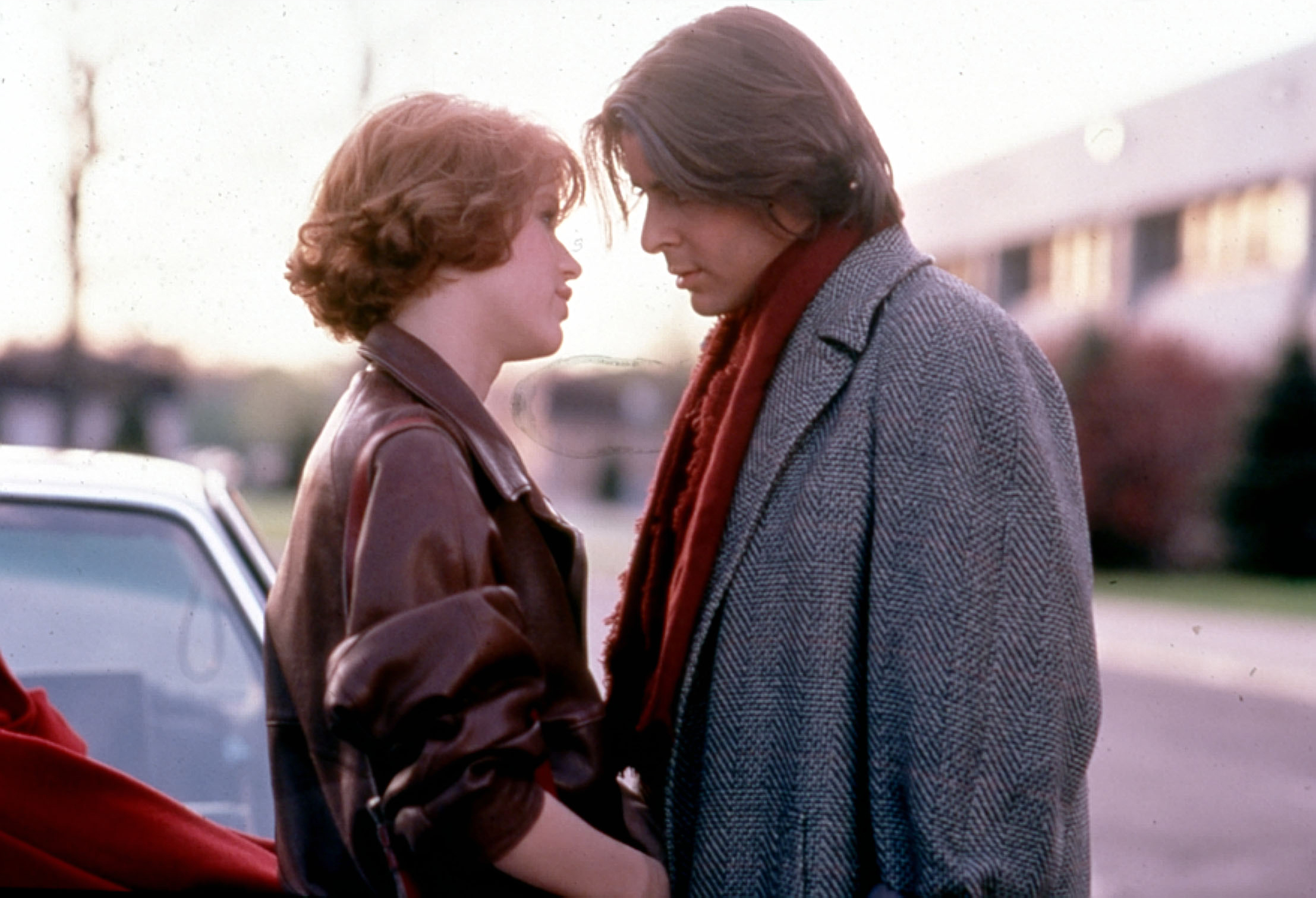 THE BREAKFAST CLUB [US 1985]  MOLLY RINGWALD, JUDD NELSON     Date: 1985 (Mary Evans Picture Library) Keine Weitergabe an Dri
