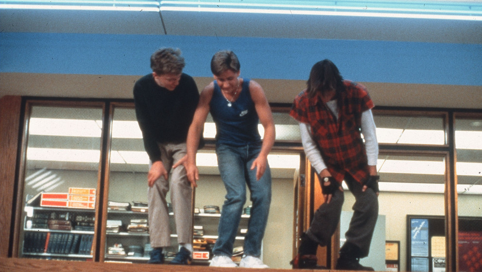 THE BREAKFAST CLUB [US 1985]   JUDD NELSON, EMILIO ESTEVEZ, ANTHOINY MICHAEL HALL     Date: 1985 (Mary Evans Picture Library)
