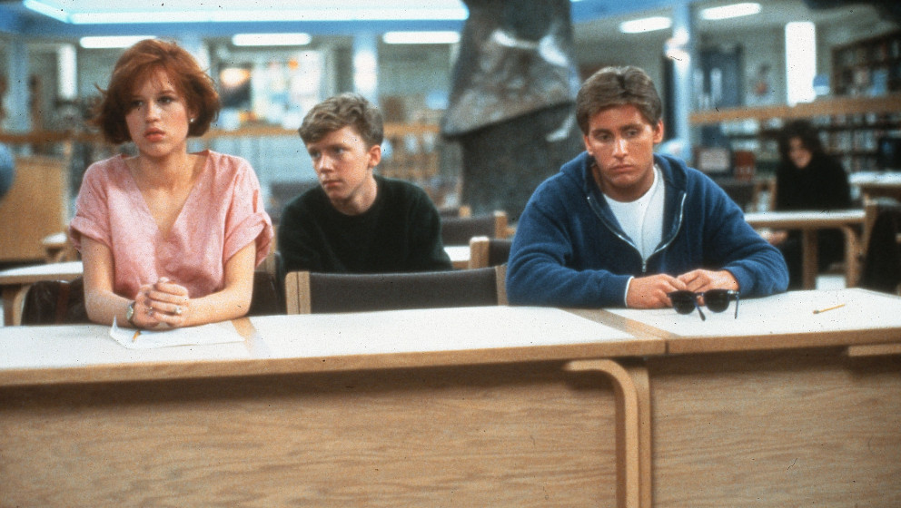 THE BREAKFAST CLUB [US 1985]   EMILIO ESTEVEZ, MOLLY RINGWALD, ANTHOINY MICHAEL HALL     Date: 1985 (Mary Evans Picture Libra