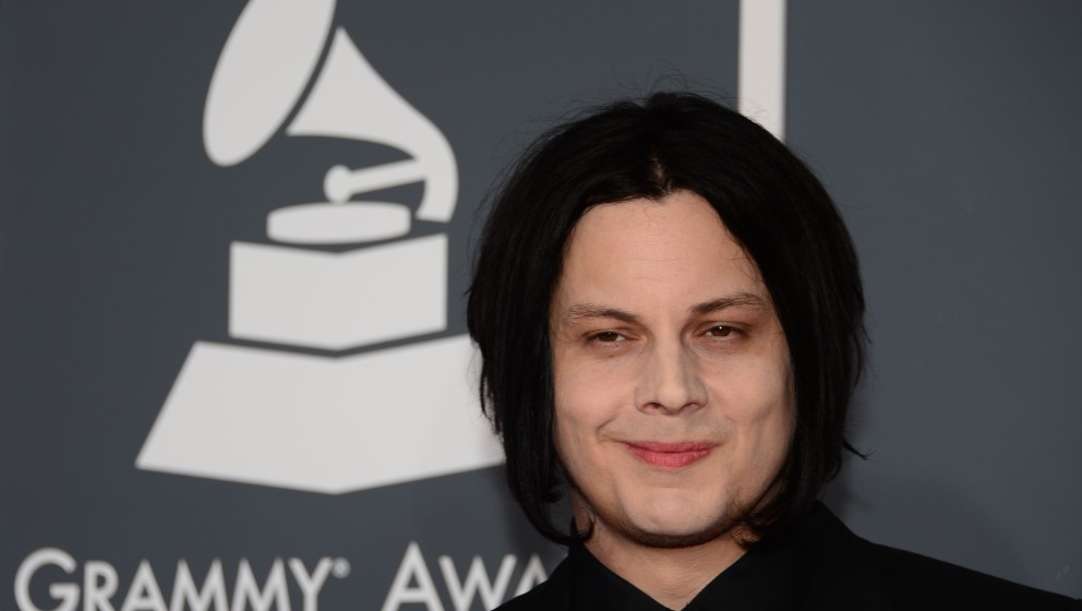 Nominee for Record of the Year, Best Rock Song and Best Rock Album Jack White arrives on the red carpet at the Staples Center