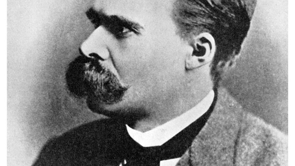 'Superman': Friedrich Nietzsche, German philosopher, 19th century (1956). Nietzsche (1844-1900) put forward the idea of the �