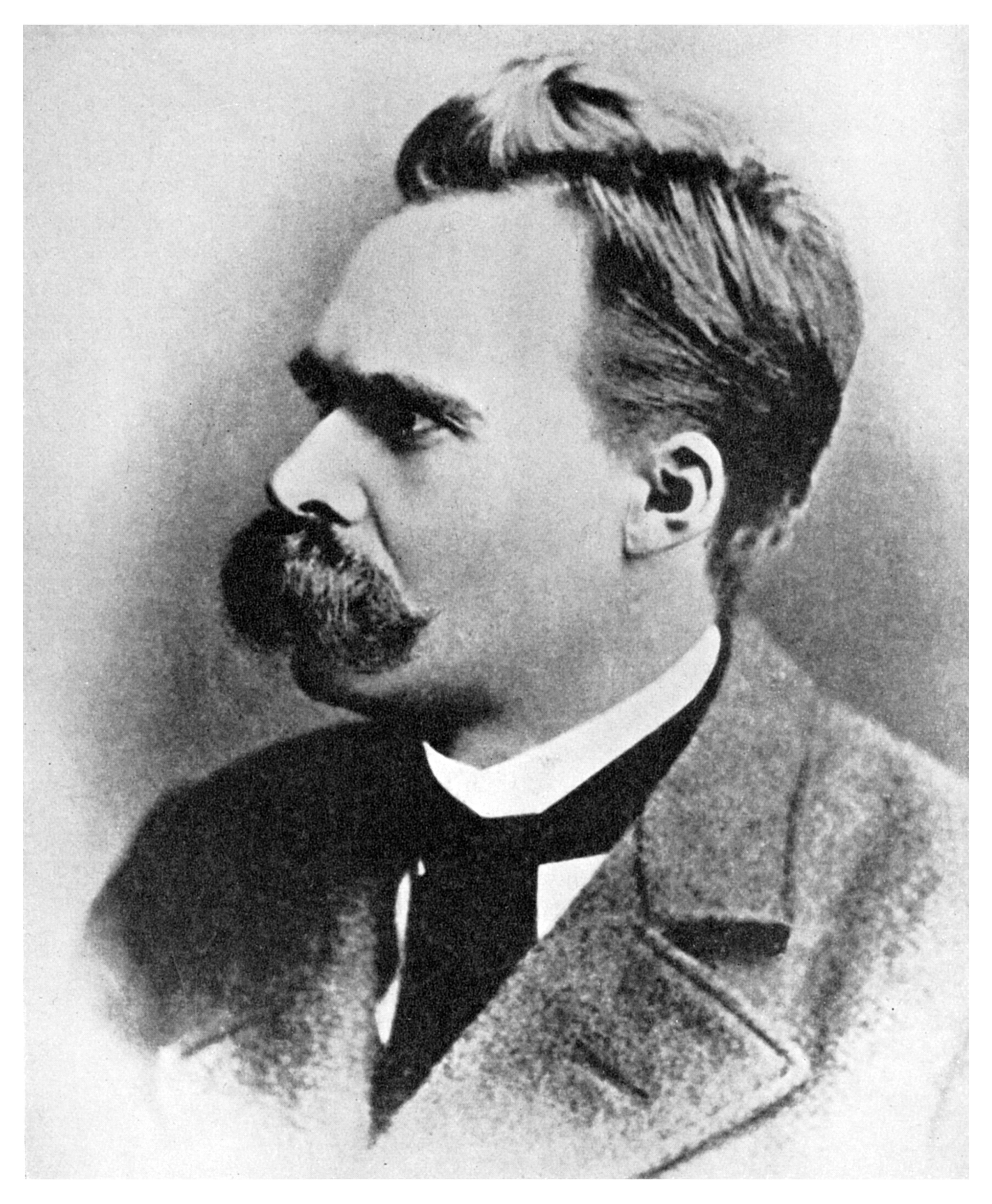 'Superman': Friedrich Nietzsche, German philosopher, 19th century (1956). Nietzsche (1844-1900) put forward the idea of the �