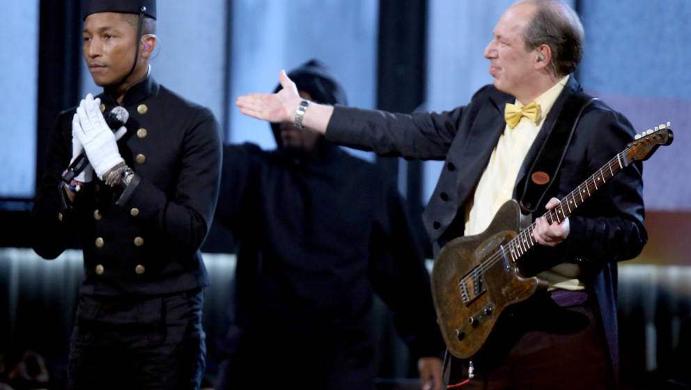onstage during The 57th Annual GRAMMY Awards at STAPLES Center on February 8, 2015 in Los Angeles, California.