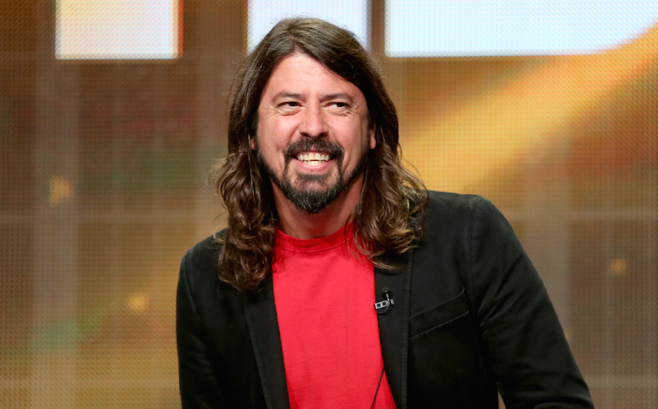 speaks onstage at the 'Foo Fighters: Sonic Highways' panel during the HBO portion of the 2014 Summer Television Critics Assoc