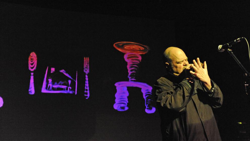 Pere Ubu: Konzert der amerikanischen Avangarde-Formation um Thomas und Peter Laughner am 05.10.2009 in der Hamburger Fabrik.