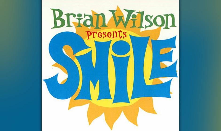 88. Brian Wilson, 'Smile'.  Das berüchtigte unvollendete Beach-Boys-Album von 1966. Die 'Antwort auf Sgt. Pepper' wurde mit