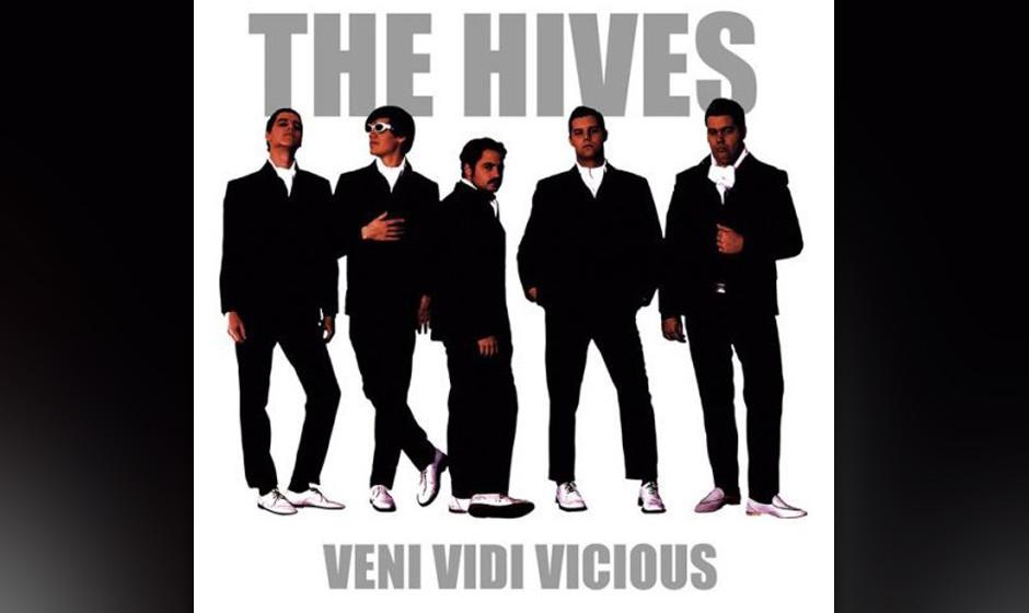91. The Hives, 'Veni Vidi Vicious'.  Fünf Schweden, die sich anziehen wie Gerry and the Pacemakers, eine Art Cartoon-Rockban