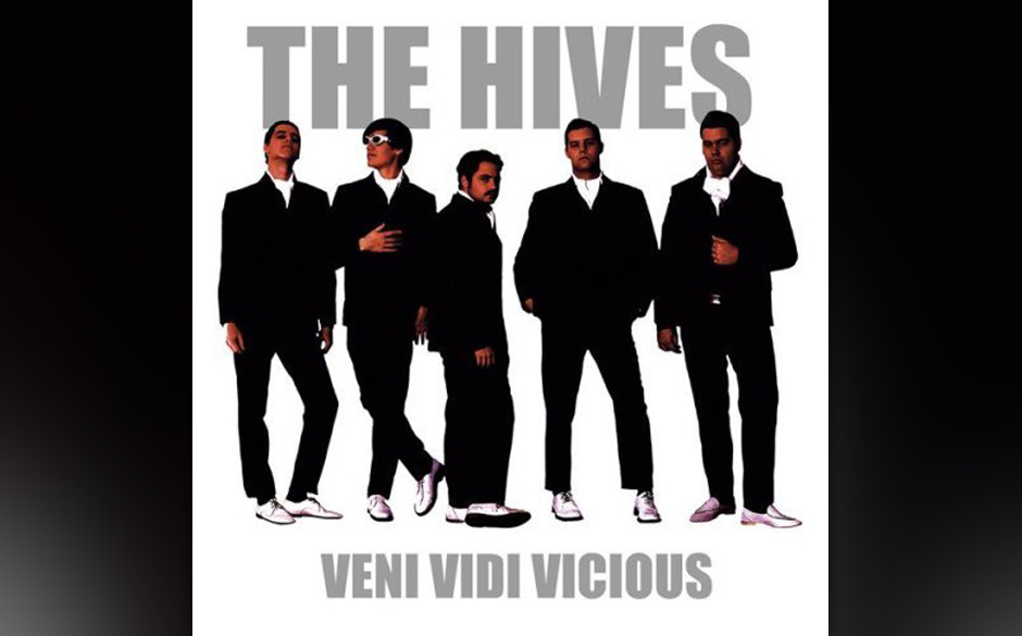 91. The Hives, 'Veni Vidi Vicious'.  Fünf Schweden, die sich anziehen wie Gerry and the Pacemakers, eine Art Cartoon-Rockban