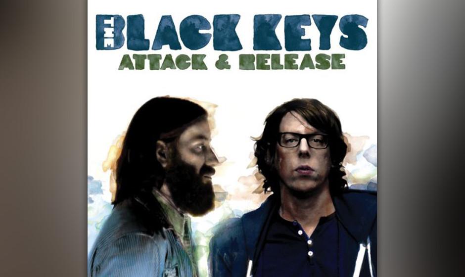 83. The Black Keys, 'Attack & Release'.  Dan Auerbach und Patrick Carney widmeten sich dem Garage-Krach, als er schon fast wi