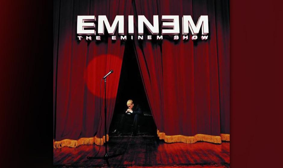 84. Eminem, 'The Eminem Show'.  Auf seiner dritten Platte wechselte Eminem von Provokation zu Introspektion. Vatersein, die S