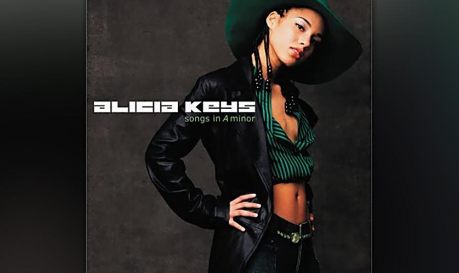 95. Alicia Keys, 'Songs in a Minor'.  Das Debüt der 20-Jährigen bot ein Panoptikum: HipHop.  vintage soul, Gospel, klassisc
