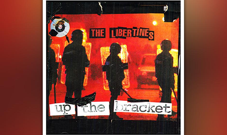 94. The Libertines, 'Up the Bracket'.  Heute füllen Pete Doherty und Carl Barât die Klatschspalten, zu Beginn des Jahrtause