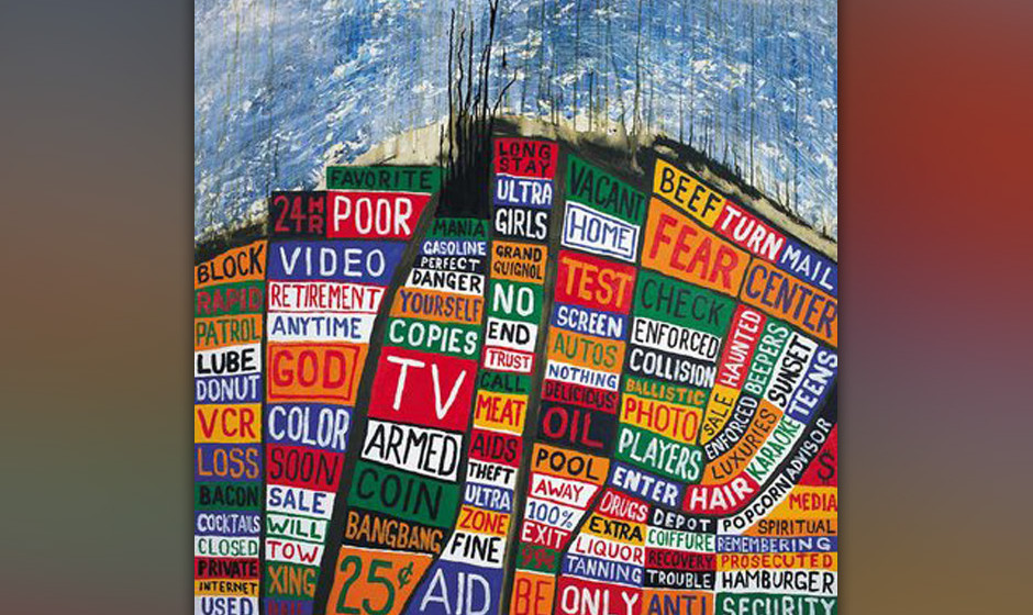 89. Radiohead, 'Hail to the Thief'.  Eine Seltenheit: ein Radiohead-Album, das unterbewertet ist. Punk-Wut und Art-Rock-Ambit