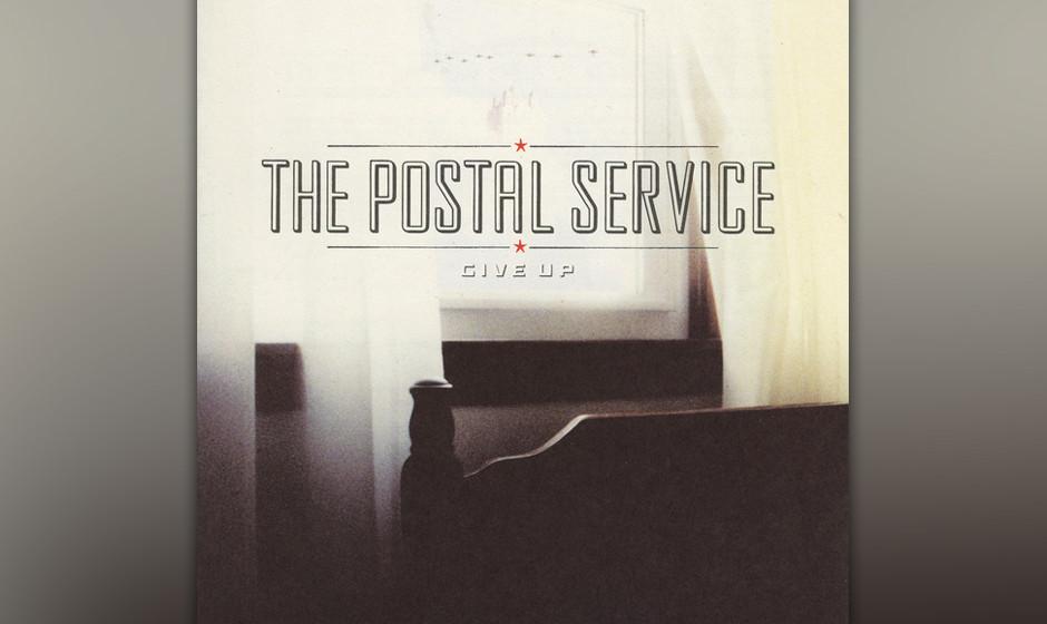86.The Postal Service, 'Give Up'.  Wie kam der Projektname zustande? Electro-Musiker Jimmy Tamborello und Death Cab for Cutie