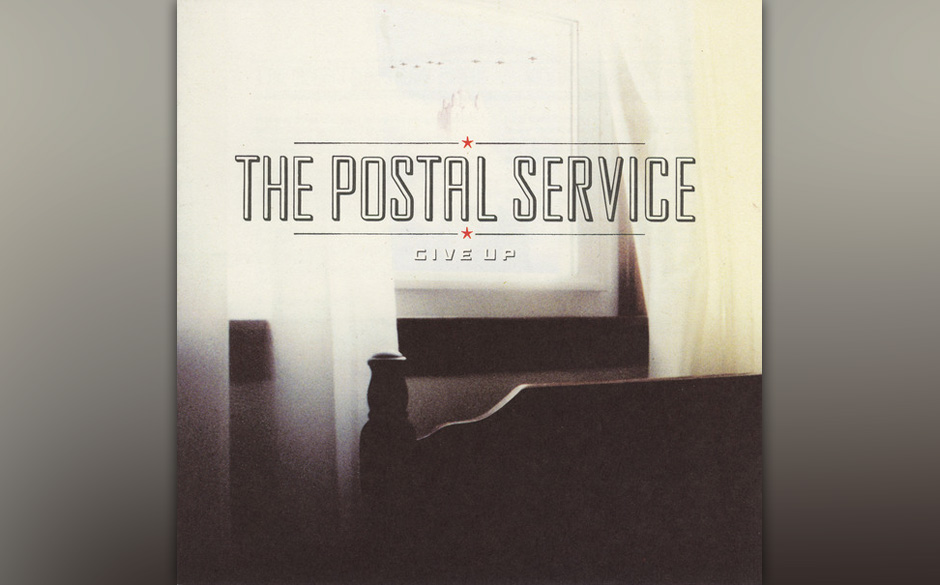 86.The Postal Service, 'Give Up'.  Wie kam der Projektname zustande? Electro-Musiker Jimmy Tamborello und Death Cab for Cutie