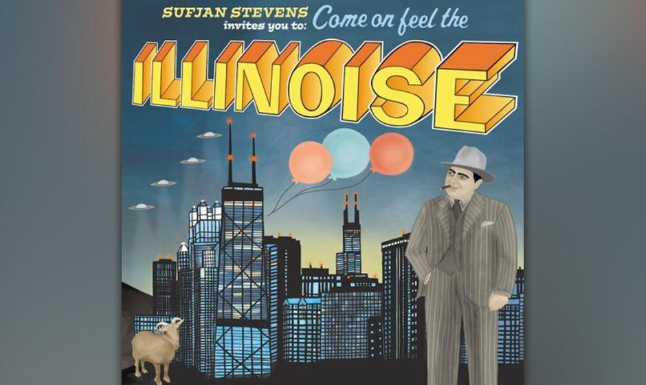 78. Sufjan Stevens, 'Illinois'.  Ein Album pro US-Bundesstaat! Songs wie 'Out of Egypt' und 'Chicago' vereinen Stevens' Indie