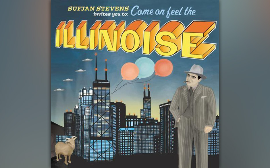 78. Sufjan Stevens, 'Illinois'.  Ein Album pro US-Bundesstaat! Songs wie 'Out of Egypt' und 'Chicago' vereinen Stevens' Indie