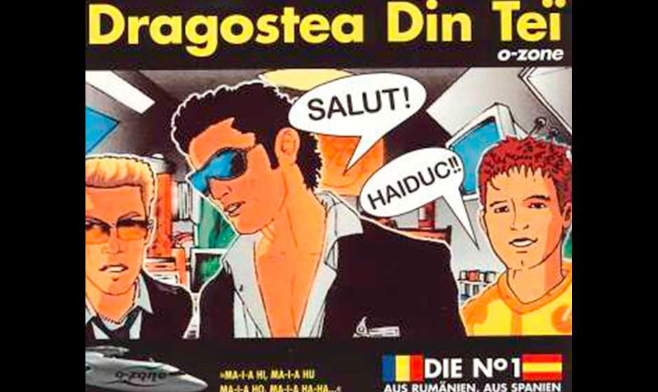 Dragostea din tei von O-Zone (2004) Genau genommen hatte die rumänische Boygroup tatsächlich schon 2002 einen Top-Ten-Hit.