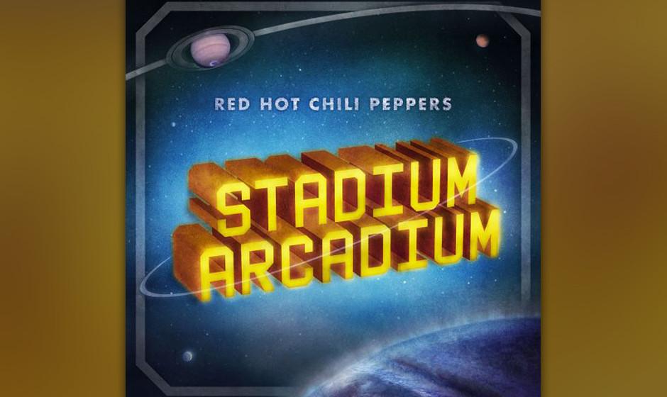 74. Red Hot Chili Peppers, 'Stadium Arcadium'.  2006 waren die Socken der Chili Peppers längst sorgfältig zusammengerollt,