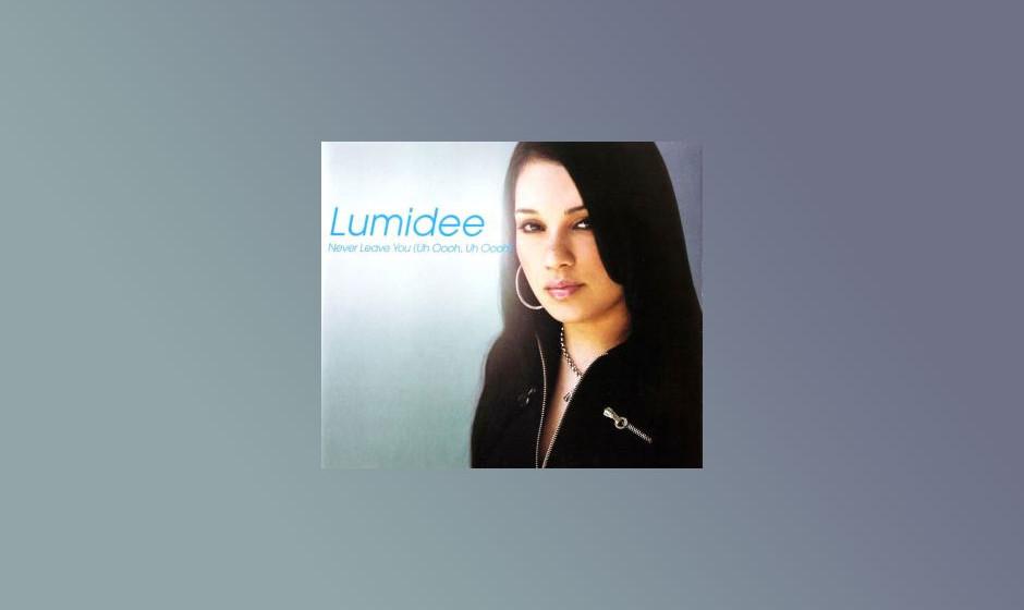 """Never Leave You (Uh Oooh) von Lumidee (2003) Der Ohrwurm erreichte Platz 1 der deutschen Charts. Die Folgesingle """"Crashin�"""