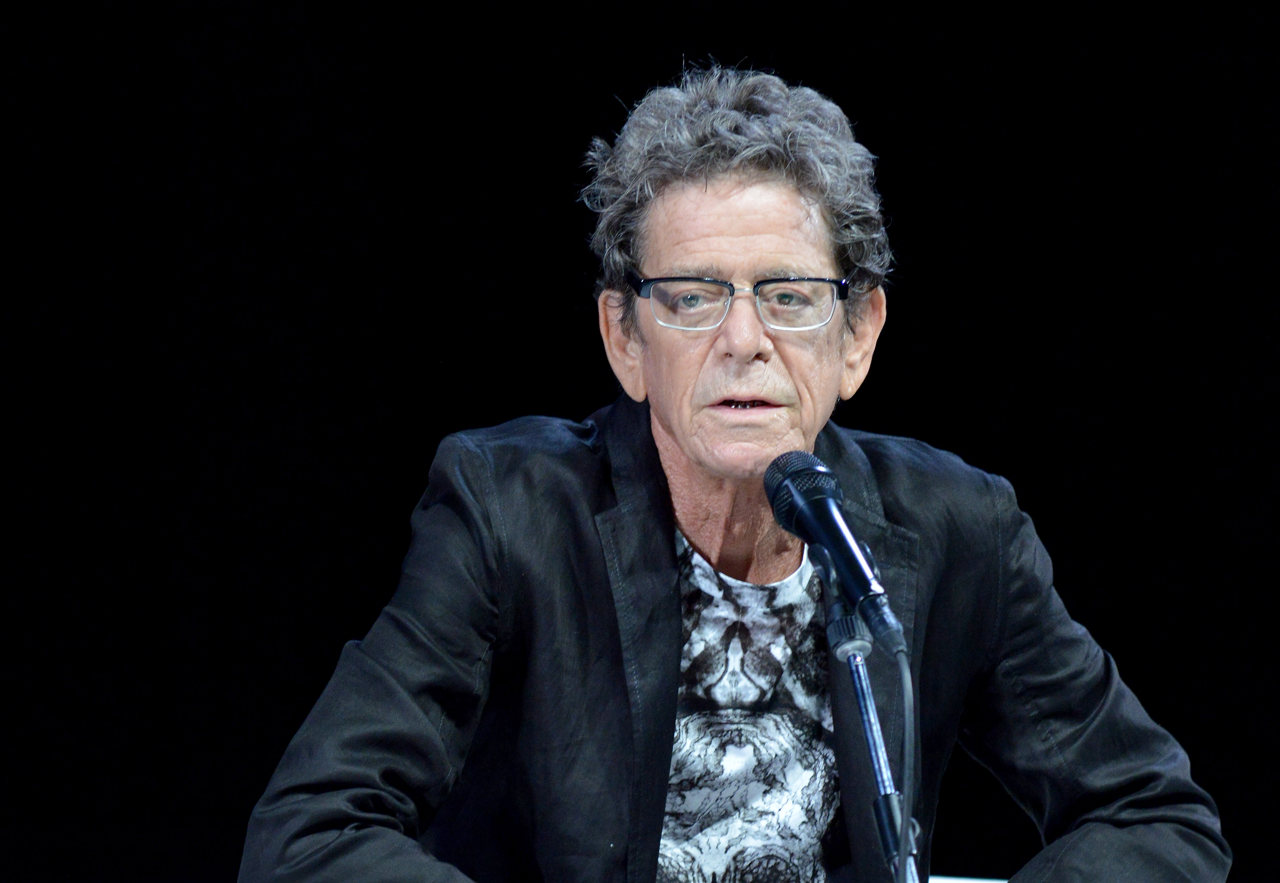 CANNES, FRANCE - JUNE 20:  Lou Reed attends the Grey Group Seminar during the Cannes Lions International Festival of Creativi