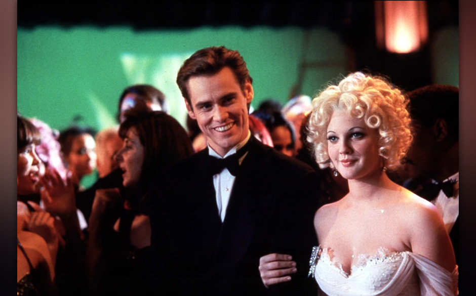 BATMAN FOREVER [US 1995]  JIM CARREY, DREW BARRYMORE     Date: 1995 (Mary Evans Picture Library) Keine Weitergabe an Drittver