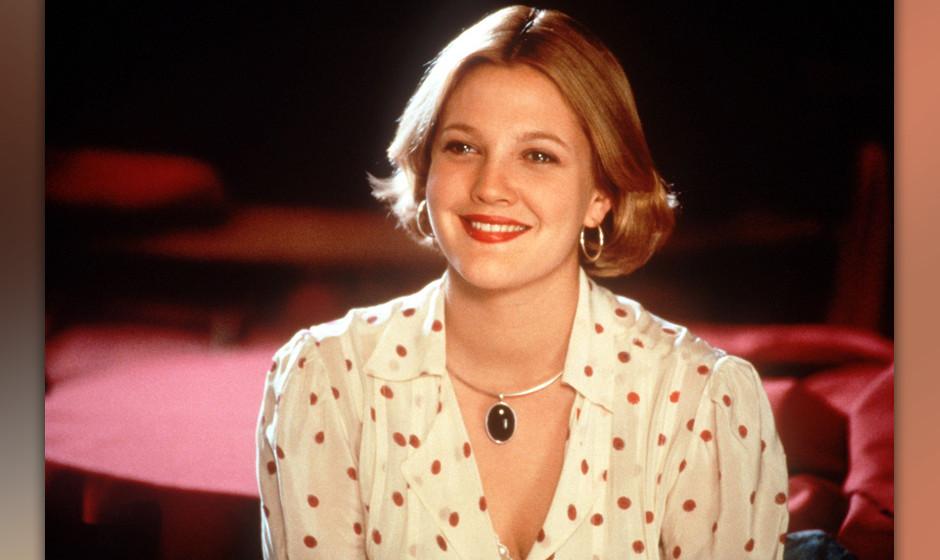 Die amerikanische Schauspielerin Drew Barrymore als Julia in einer Szene der Filmkomˆdie 'The Wedding Singer', die im Juni 1