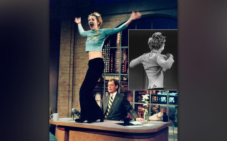 In der Late-Night-Show von David Letterman