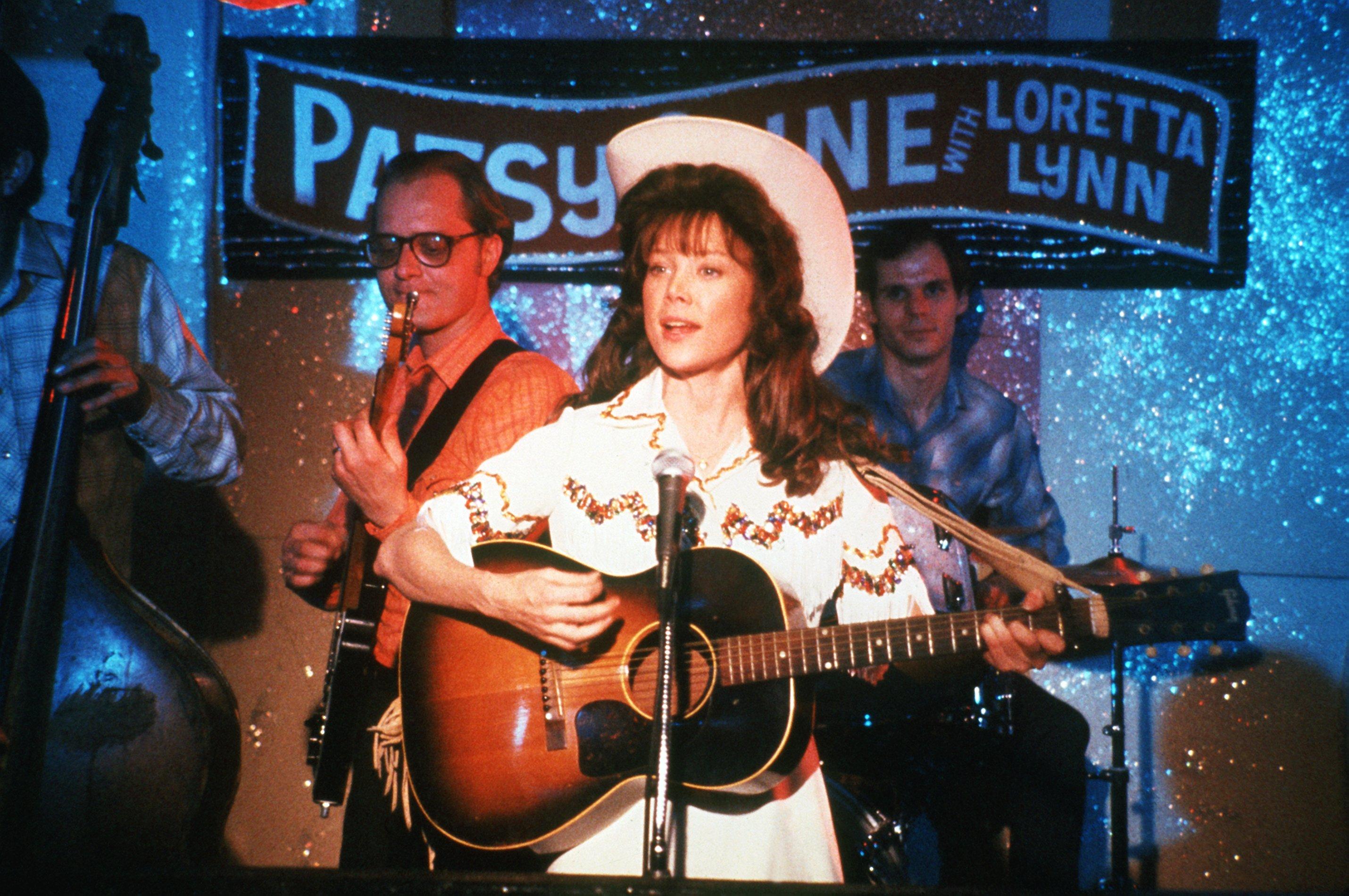 Sissy Spacek als Loretta Lynn in dem Film 'Nashville Lady' 1981. Die durch couragierte Frauenrollen bekannte amerikanische Sc