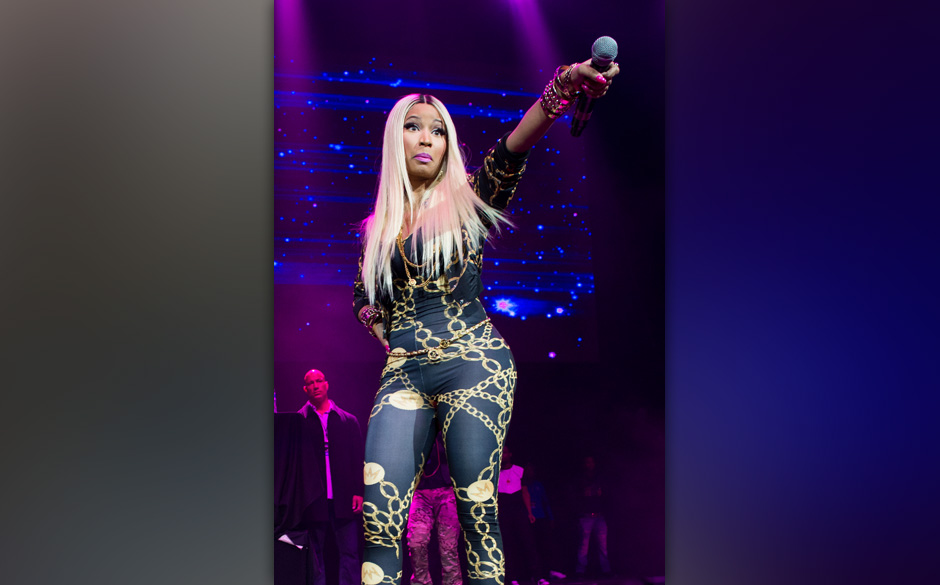 NEW YORK, NY - NOVEMBER 02:  Nicki Minaj performs during Power 105.1's Powerhouse 2013 at Barclays Center on November 2, 2013