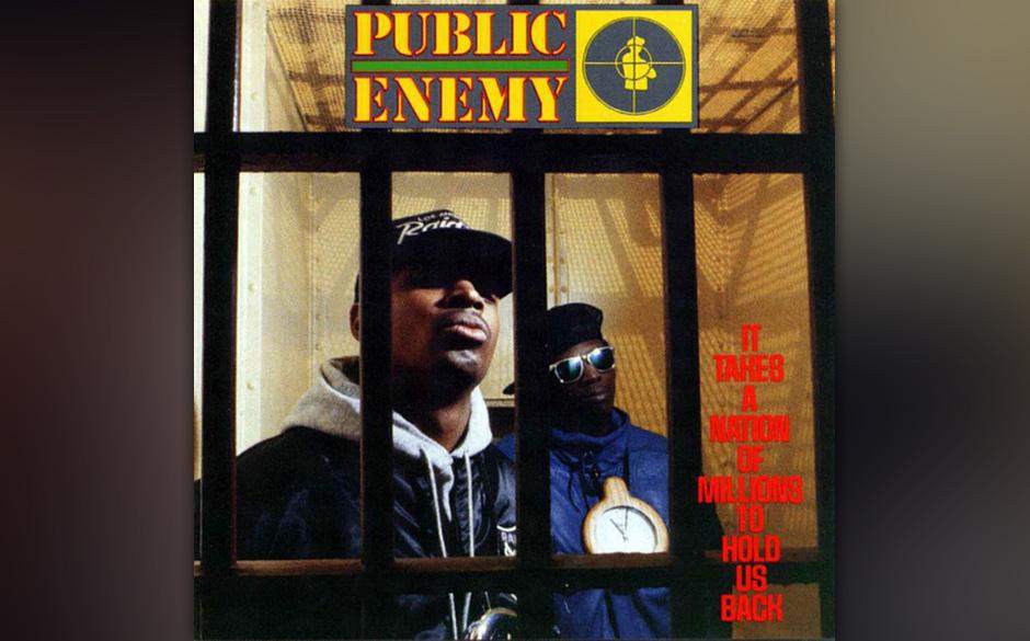 Platz 44: Public Enemy  Adam Yauch über Public Enemy: PE haben die Szene musikalisch völlig verändert. Keiner machte HipHo