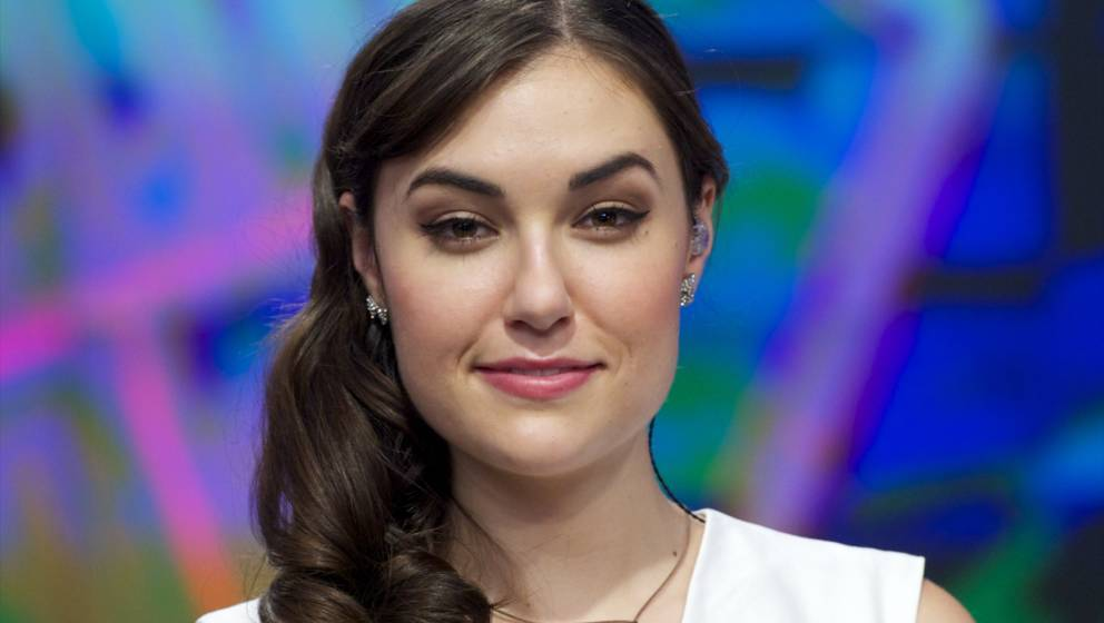 MADRID, SPAIN - JULY 01:  Sasha Grey attends 'El Hormiguero' Tv show at Vertice 360 Studio on July 1, 2014 in Madrid, Spain.