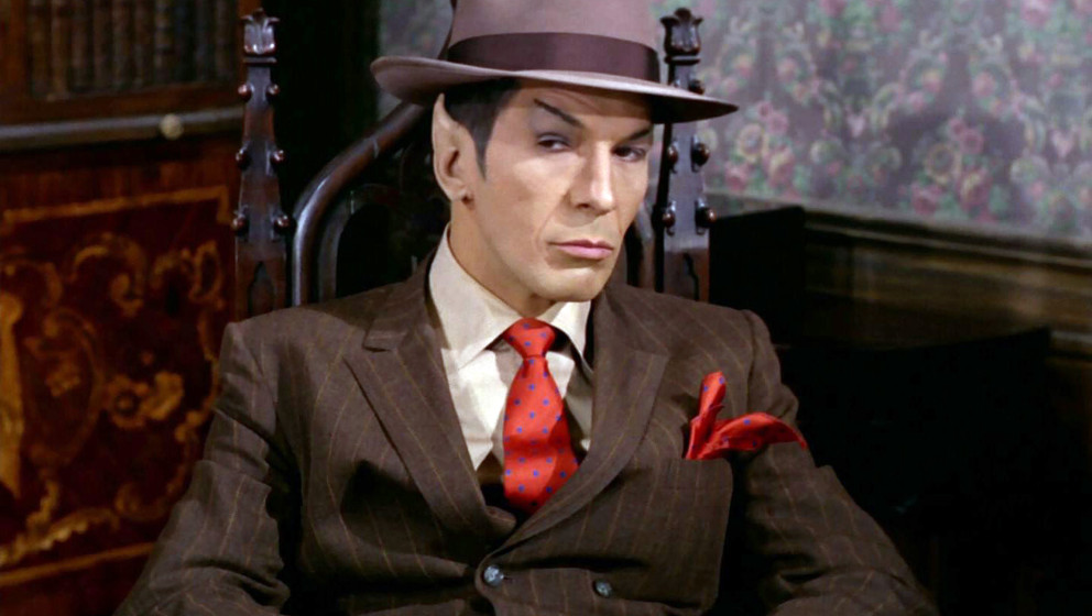 LOS ANGELES - JANUARY 12: Leonard Nimoy as Mr. Spock in the STAR TREK episode, 'A Piece of the Action.'  Original air date, J