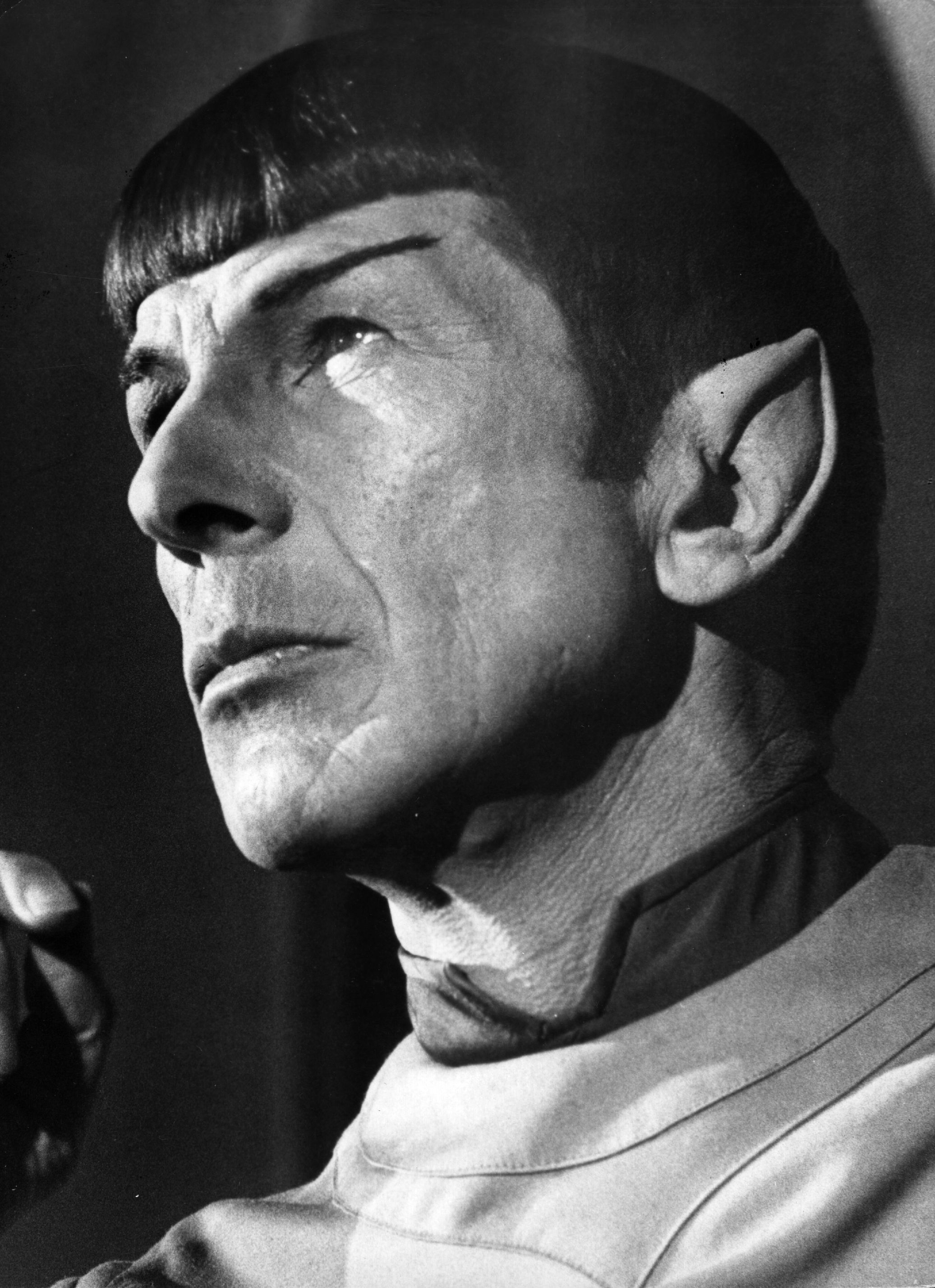 US actor Leonard Nimoy as Mr Spock from the film 'Star Trek - The Motion Picture', 1979.  (Photo by Bertil Unger/Evening Stan