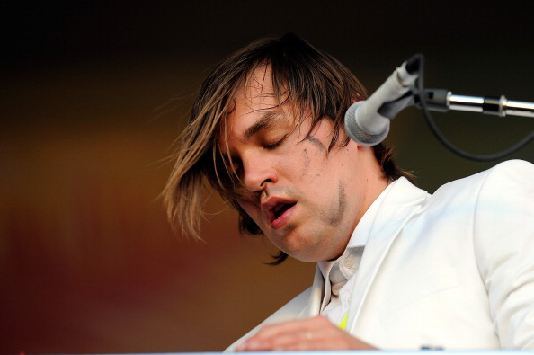 LONDON, ENGLAND - JULY 03:  Will Butler of Arcade Fire performs on stage at British Summer 2014 at Hyde Park in London, Unite