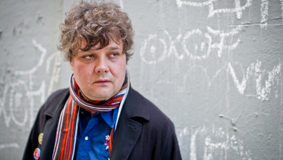 PARIS, FRANCE - SEPTEMBER 14: Ron Sexsmith poses for a portrait outside Cafe de la Danse on September 14, 2011 in Paris, Fran