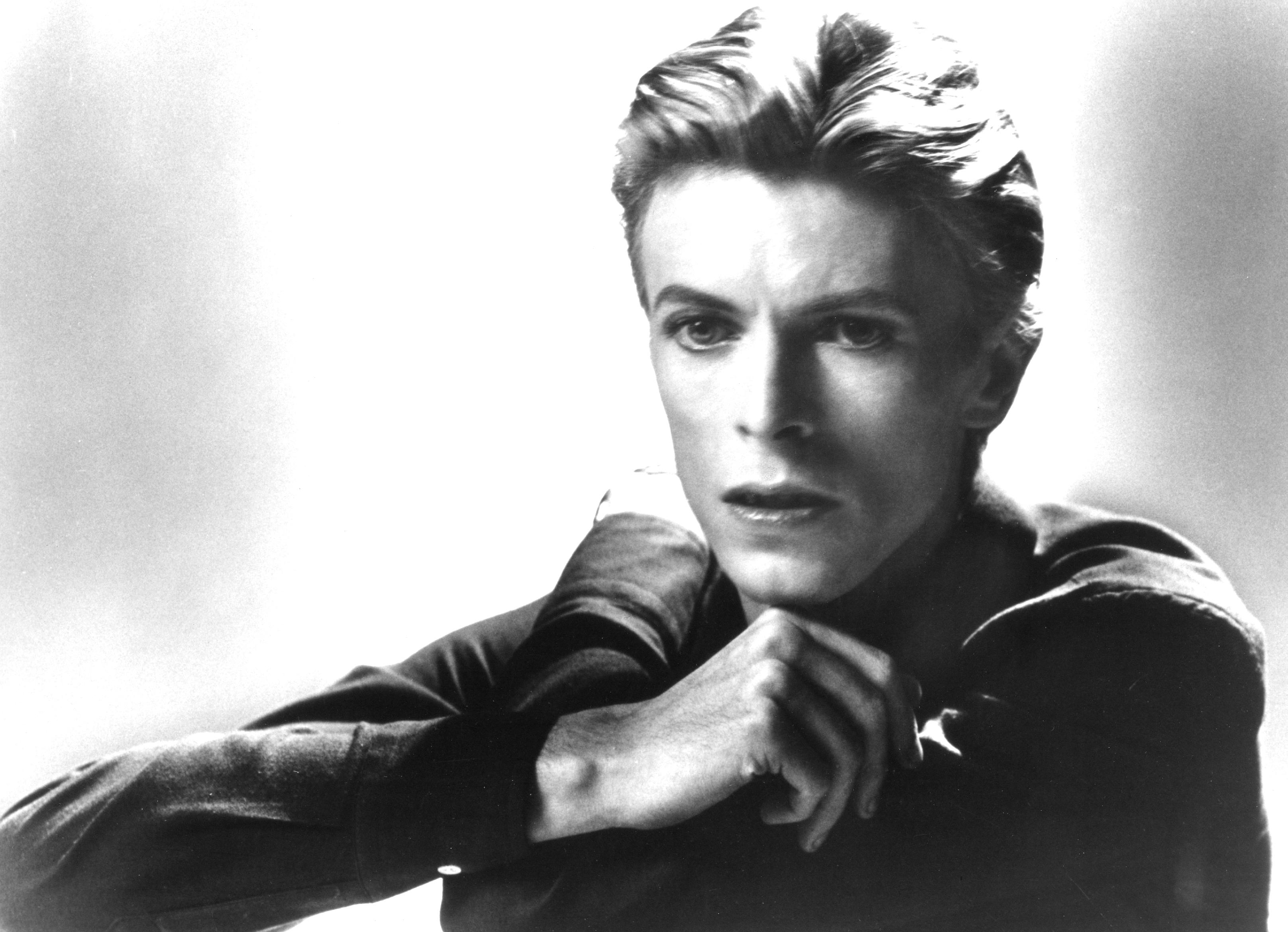 David Bowie im jahr 1976.