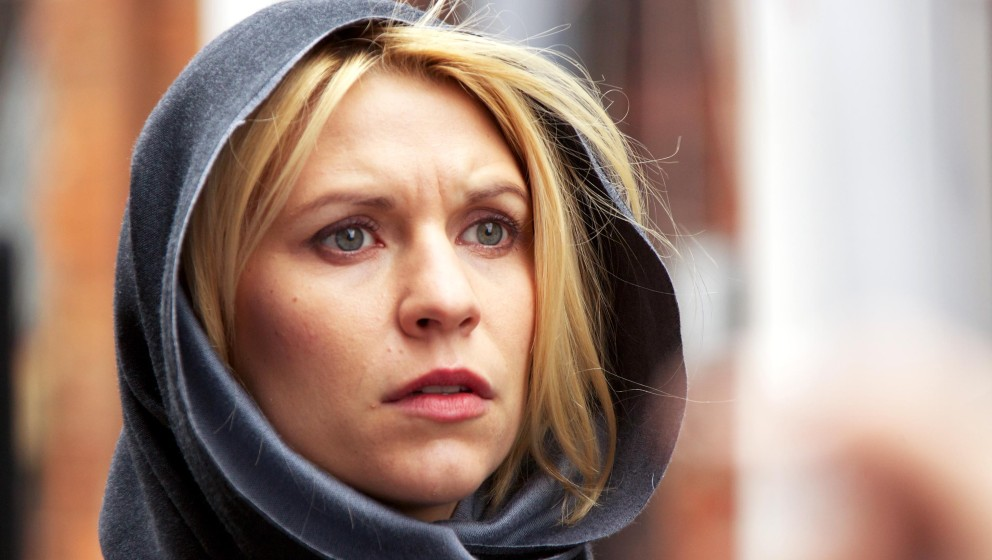 Image #: 16019801    Claire Danes as Carrie Mathison in 'Homeland'.        Showtime/Kent Smith /Landov Keine Weitergabe an Dr