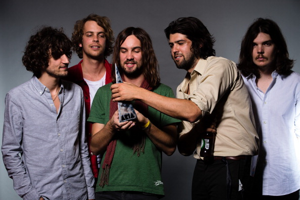 SYDNEY, AUSTRALIA - DECEMBER 01:  (Exclusive Coverage) Tame Impala poses for a portrait during the 27th Annual ARIA Awards 20