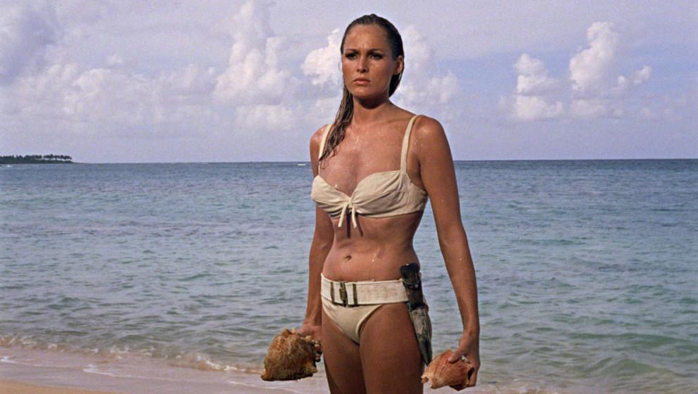 Vielleicht das berühmteste Bond-Girl: Ursula Andress