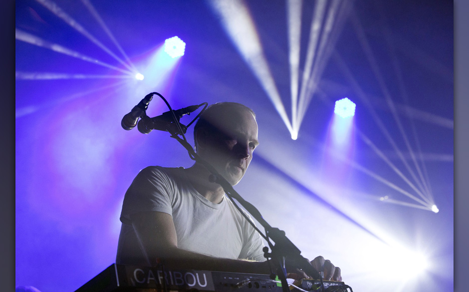 BERLIN, GERMANY - MARCH 12: Canadian singer Caribou performs live during a concert at the Columbiahalle on March 12, 2015 in