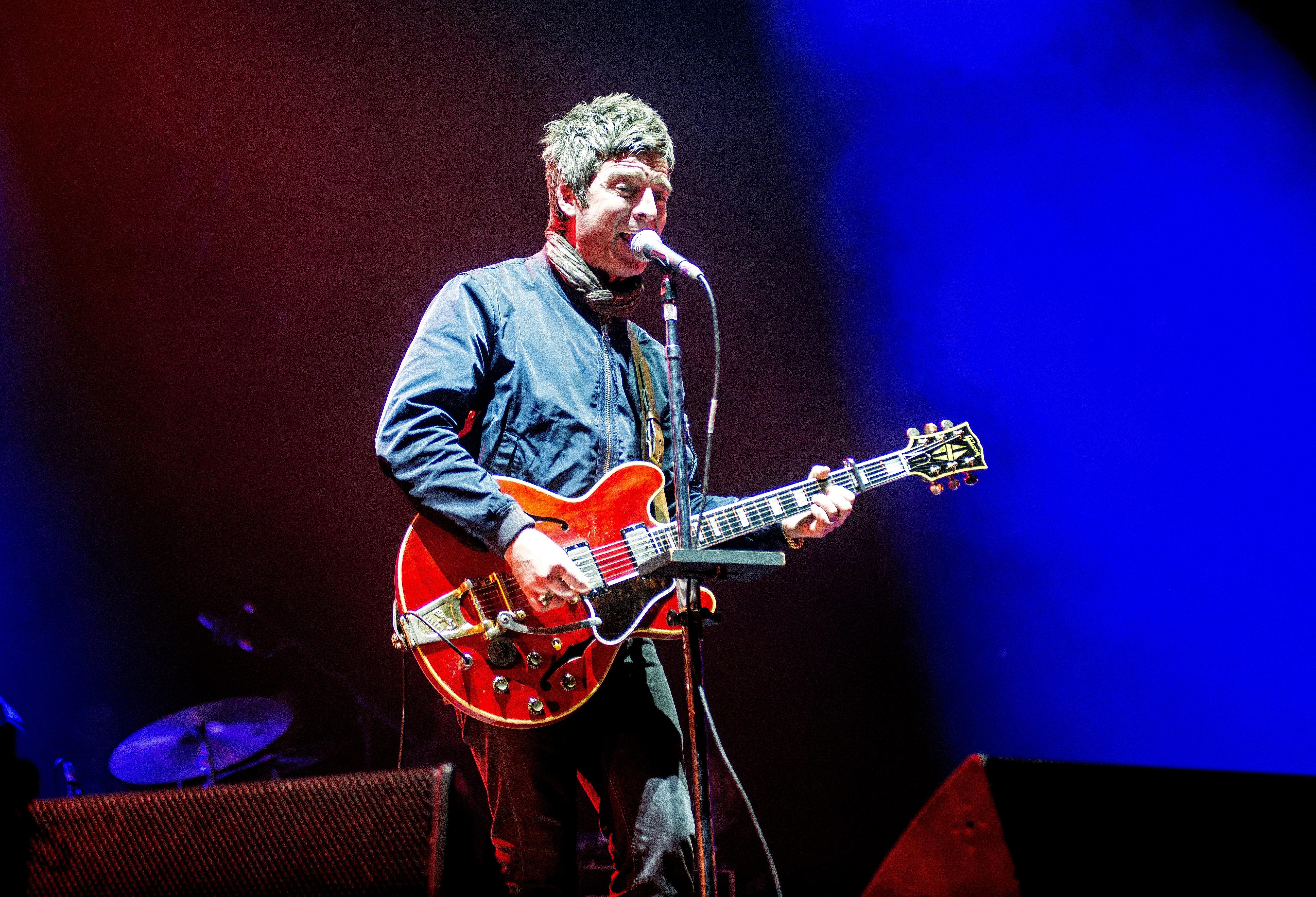Noel Gallagher live mit den High Flying Birds